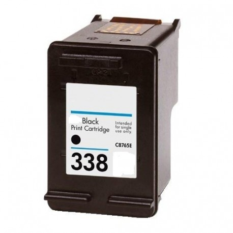 Tinteiro Compatível HP 338 (C8765EE) Preto