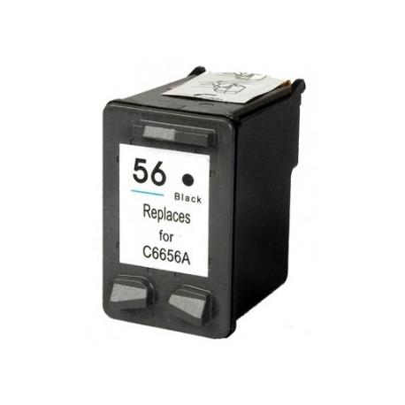 Tinteiro Compatível HP 56 (C6656AE) Preto