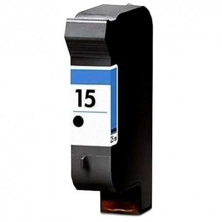 Tinteiro Compatível HP 15 (C6615DE) Preto