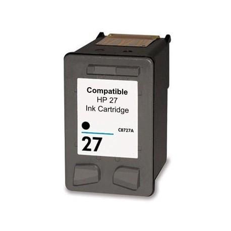 Tinteiro Compatível HP 27 (C8727AE) Preto
