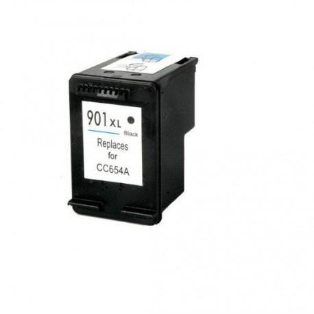 Tinteiro Compatível HP 901 XL (CC654EE) Preto