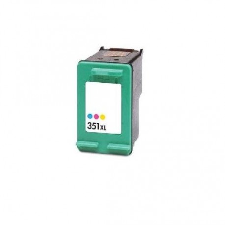Tinteiro Compatível HP 351 XL (CB338EE) Tricolor