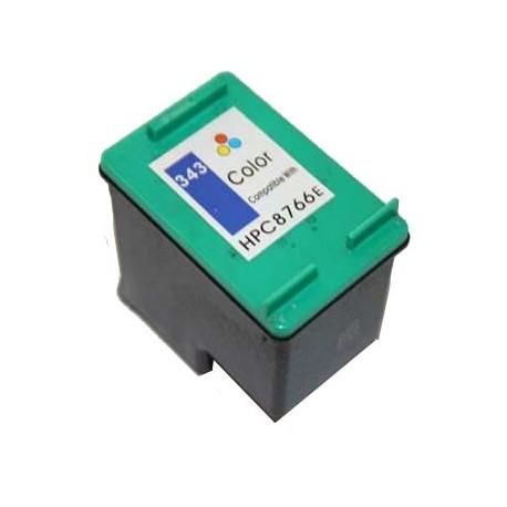 Tinteiro Compatível HP 343 (C8766EE) Tricolor