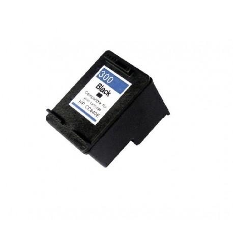 Tinteiro Compatível HP 300 XL (CC641EE) Preto