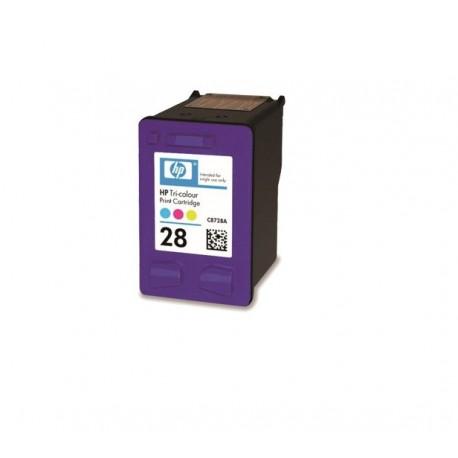 Tinteiro Compatível HP 28 (C8728AE) Tricolor