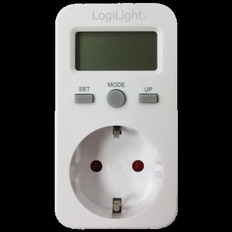 Contador de Energia Loglink 230VAC/16A 3680 VA