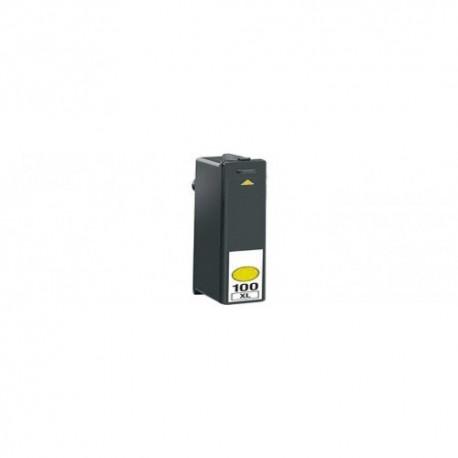 Tinteiro Compatível Lexmark 100 XL Amarelo