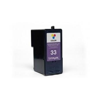 Tinteiro Compatível Lexmark 33 Tricolor