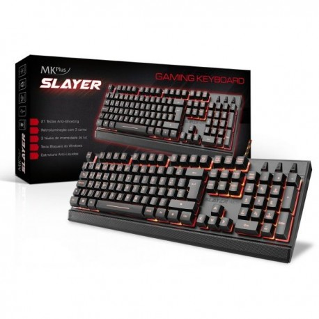 MKPlus Teclado Gaming Slayer - TG8120SLAYER