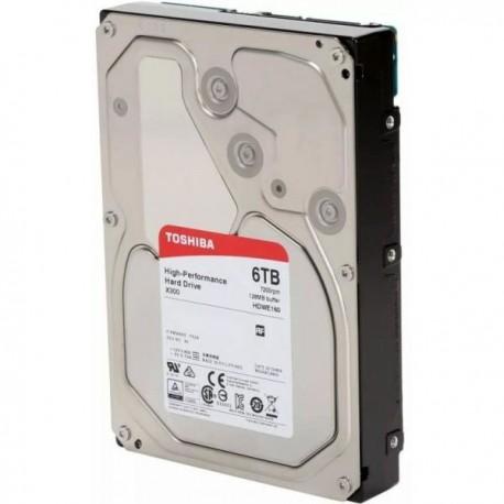 "Toshiba 6TB X300 3.5"" 7200rpm 128MB SATA III Bulk - HDWE160UZSVA"