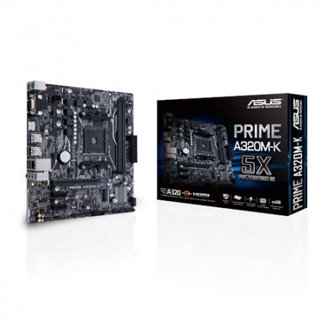 Motherboard ASUS PRIME A320M-K AMD AM4 A320 2DDR4 USB 3.0 M.2