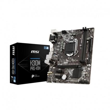 Motherboard MSI H310M PRO-VDH LGA1151 2DDR4 4ST6 D-SUB DVI-D HDMI