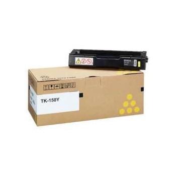 Toner Kyocera Original TK150Y Amarelo - 6000 páginas