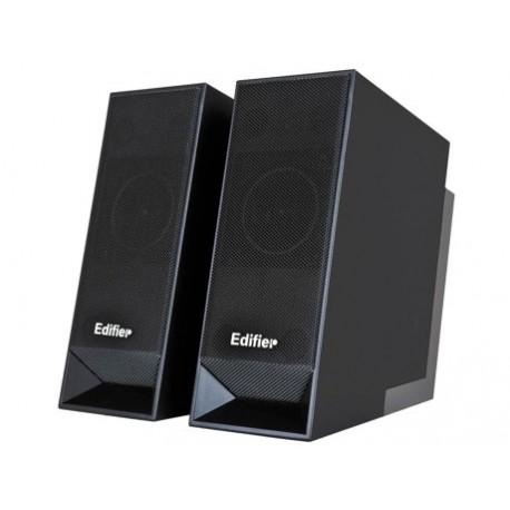 COLUNAS 2.0 EDIFIER M20USB, 10W RMS, COM HUB USB, PRETAS
