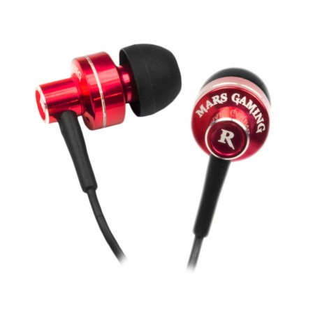 Auscultadores Mars Gaming In-Ear Set 10Mm Neodymiun, Noise Cancelling System - Mih1