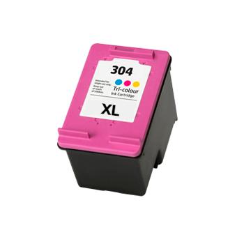 Tinteiro compatível HP 304XLB (N9K06AE/N9K08AE) Preto