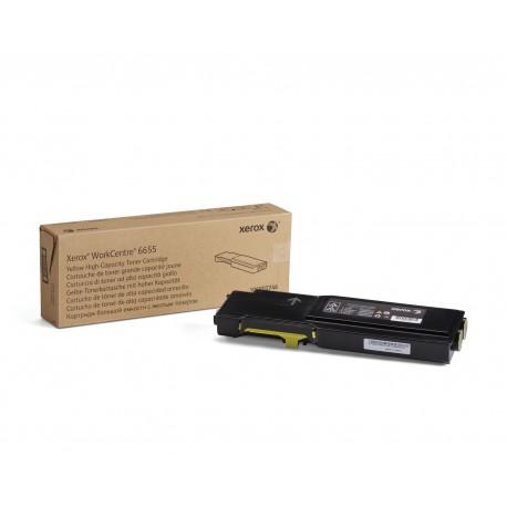 Toner Xerox 6655Iv X Amarelo Capacidade Elevada (7,500 Páginas) - 106R02746