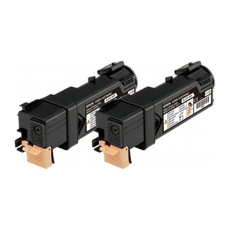 Toner Epson Aculaser C2900/Cx29 Preto Duplo Pack C13S050631