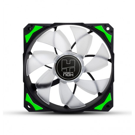 Cooler NOX Hummer H-Fan 120 LED Green - NXHUMMERF120LG