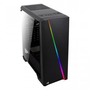 Caixa AEROCOOL CYLON ATX RGB Lighting Full Side Window - CYLON