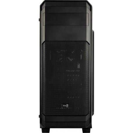 Caixa AEROCOOL AERO300 ATX/Micro-ATX/Midi-Tower c/Acrylic Window 2xUSB2.0/1xUSB3.0 Black- AERO300FAW