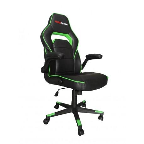 Cadeira MARS GAMING MGC117 Profissional Black/Green