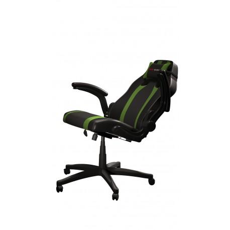 Cadeira MARS GAMING MGC2 Profissional Preto/Verde + Almofada