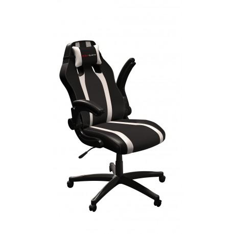 Cadeira MARS GAMING MGC2 Profissional Preto/Branco + Almofada