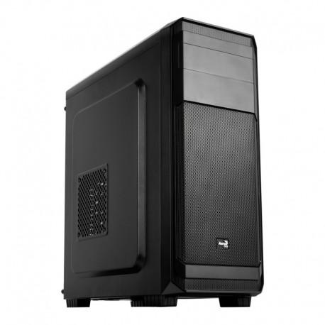 Caixa AEROCOOL AERO300 - ATX/ Micro-ATX/ Midi-Tower c/ Acrylic Window 2xUSB2.0/ 1xUSB3.0 Black - AERO300