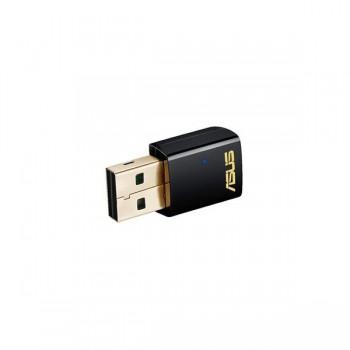 Asus Adaptador USB AC600 DualBand 802.11ac -USB-AC51