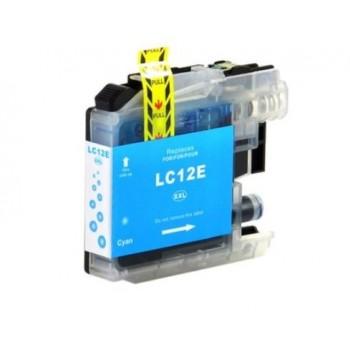 Tinteiro Compatível Brother LC12E Azul - LC-12C