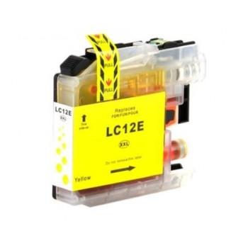 Tinteiro Compatível Brother LC12E Amarelo - LC-12Y