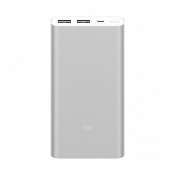 Powerbank Xiaomi Mi 2S 10000mAh Prateada