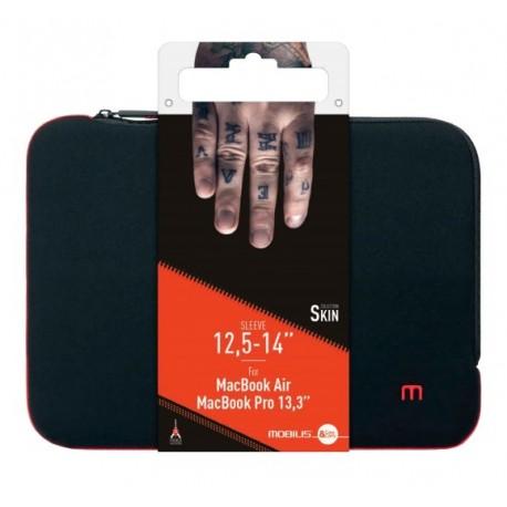 Bolsa MOBILIS Skin Sleeve 10-12.5'' Preto/Vermelho