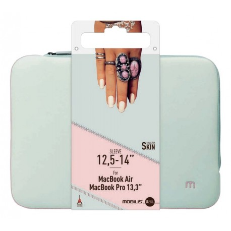 Bolsa MOBILIS Skin Sleeve 10-12.5'' - Cinzento/Rosa