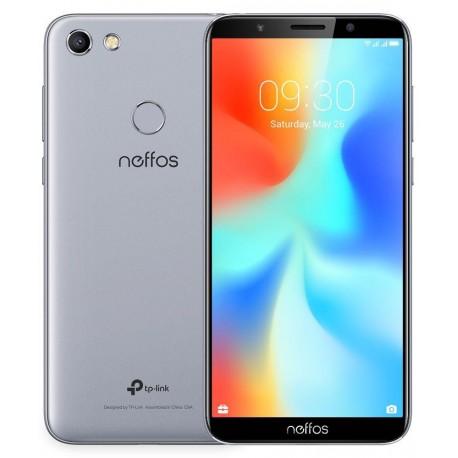 """Smartphone TP-Link Neffos C9A 5.45"""" HD 1440x720 MT6739WW 4*CortexA53 1.5GHz 16GB/2GB 5MP/13MP Grey"""
