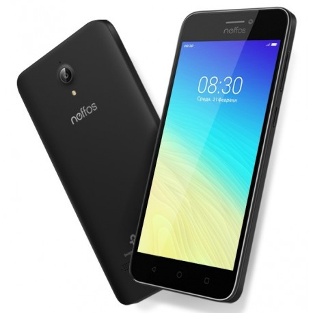 """Smartphone TP-Link Neffos Y5s 5"""" HD IPS Quadcore 2GB/16GB 2MP/8MP And 7.1 4G Grey"""