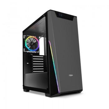 Caixa Nox Infinity SIGMA RGB Vidro Temperado USB 3.0