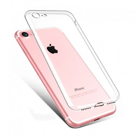 CAPA SILICONE TRANSPARENTE IPHONE 7 / 8