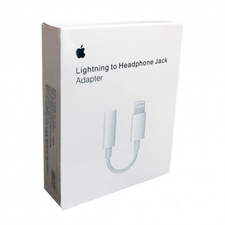 APPLE LIGHTNING HEADPHONE JACK ADAPTER 3.5MM - MMX62ZM/A